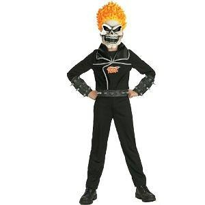 Ghost Rider Child Costume - 7-8 - Kids Costumes Ghost Rider Child Costume - Kids Costumes