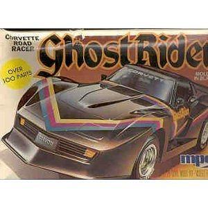 ghost rider corvette road racer model kit