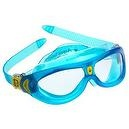 Aqua Sphere Seal Kid (Clear Lens, Translucent Blue)  Aqua Sphere Seal Kid Swim Goggle