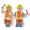 Melissa & Doug Construction Worker Role Play Set  Melissa and Doug Construction Worker Costume