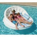 Solstice Aqua Sofa With Instaflate System