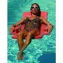 Texas Recreation Softie Folding Chair Pool Lounge - Coral One Size  Softie Folding Chair