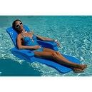 Texas Recreation Folding Baja II Pool Lounge - Blue One Size  Baja II Folding Lounge