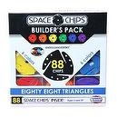 Monkey Business Sports Space Chips Builder Pack - Triangles (88 Pieces)