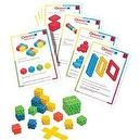 Omnifix Value Activity Set - Problem Solving Beginner Kit - 16 Cards & 100 Omnific Cubes