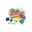 700pc Mini Geofix Classroom Kit - Geometric Construction System Mathematics Geometry