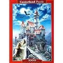 "CASTLE IN THE MOONLIGHT 1000 Piece Puzzle (Size 27"" X 18.5"")"