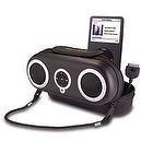 iHome iH13 Portable Protective Speaker Case for iPod (Black)
