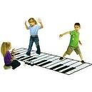 Kids Authority Educational Products - iPlay Super Gigantic Keyboard Playmat with iPod comparment and Amplifier -Built in Player
