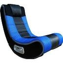 X Rocker V-Rocker SE Wireless Gaming Chair - Blue  V Rocker SE Wireless Video Gaming Chair