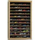 Hobby Die Cast Vehicles Hot Wheels Display Case Cabinet Shadow Box, OAK Finish