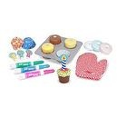 Melissa & Doug Bake and Decorate Cupcake Set
