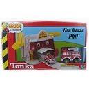 Tonka Lil Chuck & Friends Fire House Phil Playset with Hook N Ladder Fire Truck