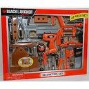 Black and Decker Deluxe Tool Set with Toolbox