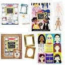 Melissa and Doug Complete the Picture, Create-a-Person, Picture Frame, and Create-a-Face Pad Bundle