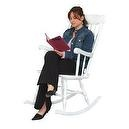 KidKraft Adult Rocking Chair-White  Kidkraft Adult Rocking Chair
