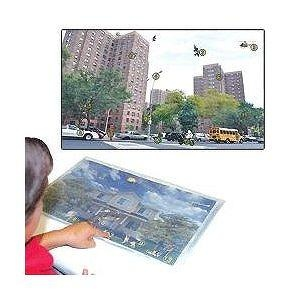 Recognition City Scene Gel Foam Pad