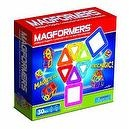 Magformers Magnetic Building Construction Set - 30 Piece Rainbow Set