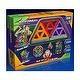 Super Magformers Magnetic Building Construction Set - 30 Piece Rainbow Set