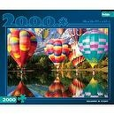 Buffalo Games Balloons in Flight 2000 Pieces Jigsaw Puzzle