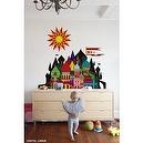 Blik Imaginary Castle Wall Decal Available in Large Size 6  Imaginary Castle Wall Decal Available in 2 Sizes