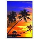 Educa Sunset in the Maldives Jigsaw Puzzle