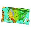 LeapFrog Tag United States Map Jumbo Puzzle