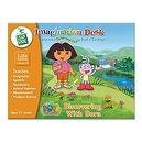 "Imagination Desk: ""Discovering with Dora"" Interactive Color-and-Learn Book and Cartridge"