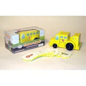 Brainy Baby Sadie The ABCs School Bus Wooden Flashcar