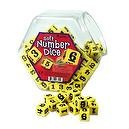 Learning Resources Hands On Soft Number Dice Bucket (LER6350)