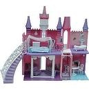 Dream Doll Dollhouse Castle with Elevator and Curve Stairs Set