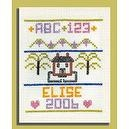 Harrisville Designs Cross Stitch Sampler