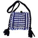 Harrisville Designs Potholder Purse (Purple/White)