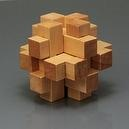 Wooden Magic Cube Puzzle(0691-1)