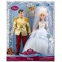 Disney Princess Once Upon a Wedding Prince Charming and Cinderella Doll Set