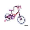 Huffy Disney Princess Bike (Shimmer Pink/Glitter Grape, Medium/16-Inch)