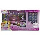 Squinkies Disney Celebration Princess Coach Dispenser + Cinderella Bubble Pack Gift Set (18 Squinkies Inside)