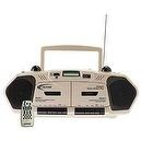 Boombox Cd Player Designed With Wireless Listening / Learning Center For School Teachers & Students - Califone 2395IR