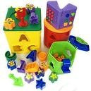 Megcos Musical Sorting & Stacking Blocks Toy -Affordable Gift for your Little One! Item #LMID-1237