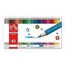 Caran dAche Fancolor Colored Pencil Kit (40 Colors)