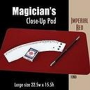 "Magic Makers Large Close-up Pad (22.5"" x 15.5"") Imperial Red"