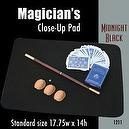 "Magic Makers Standard Size Close-up Pad (17.75"" x 14"") Midnight Black"