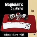"Magic Makers Wide Close-up Pad (15.5"" X 10.75"") Red"