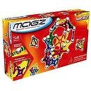 Webz 54 Piece Magnetic Construction Set with colorful transparent dics,  bars and  balls
