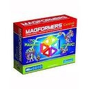 Magformers Magnetic Building Construction Set - 46 Piece Carnival Set