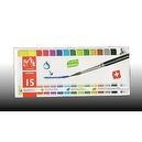 Caran dAche Fancolor Pastic Box Tempera Kit (15 Colors)