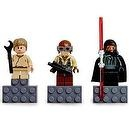 LEGO Star Wars Mini Figure Magnet 3pcs Set - Naboo Fighter Pilot, Darth Maul,