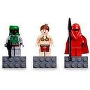 LEGO Star Wars Mini Figure Magnet Set - Boba Fett, Princess Leia, and Imperial Royal Guard
