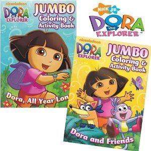 Dora The Explorer Coloring Book Set 2