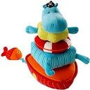 Pirate Arnold the Hippos Stacking Pyramid Toy